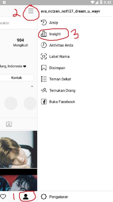Akun Profil di Instagram