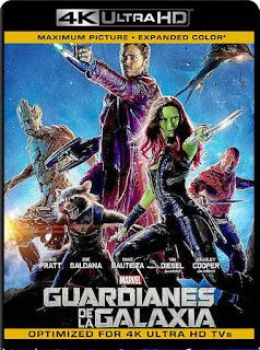 Guardianes De La Galaxia Vol. 1 (2014) 4K [UHD HDR] Latino [Google Drive] Panchirulo