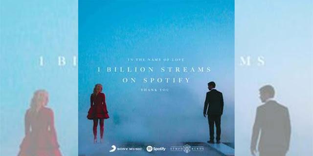 """Martin Garrix & Bebe Rexha sobrepasan los mil millones de streams en Spotify con """"In The Name of Love"""""""