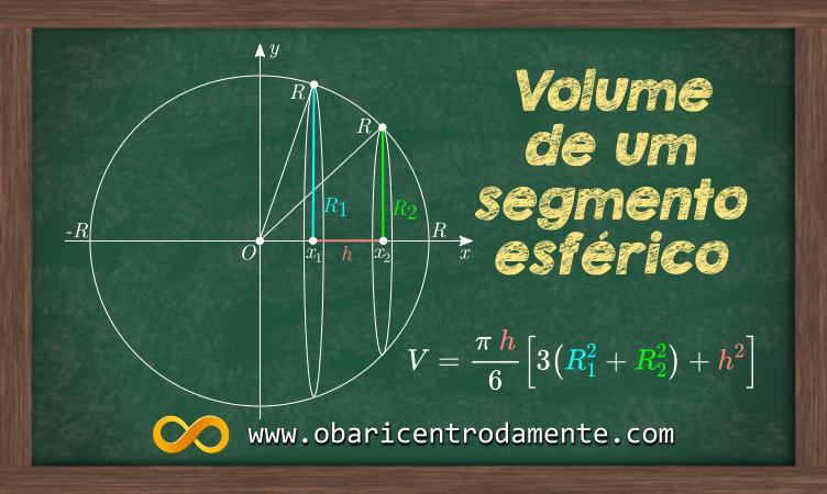 como-calcular-o-volume-de-um-segmento-esferico-com-integral