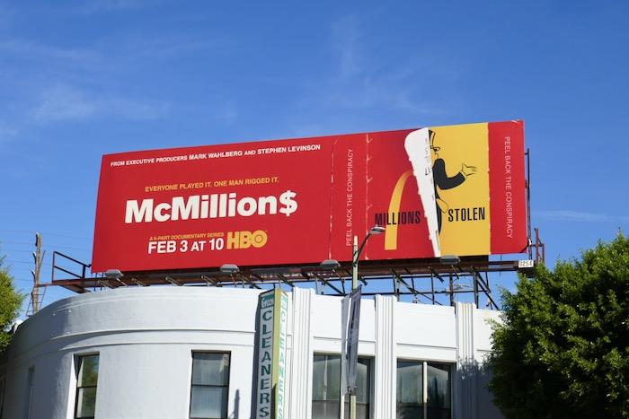 McMillions series premiere billboard