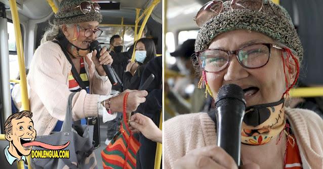 Cindy Sindientes emigró y ahora triunfa rotundamente en los buses de Colombia