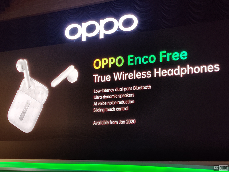 Key features of OPPO Enco Free