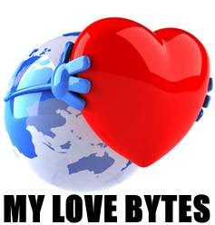 My Love Bytes love picture quotes, love quotations with images, romantic sayings with pictures