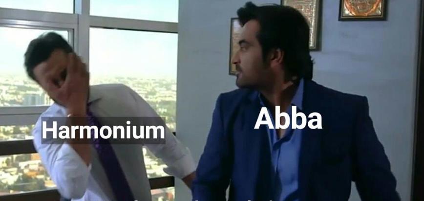 Maula Jatt Entertainment: The Abba and Harmonium Memes are