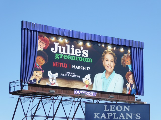 Special Julies Greenroom series premiere billboard