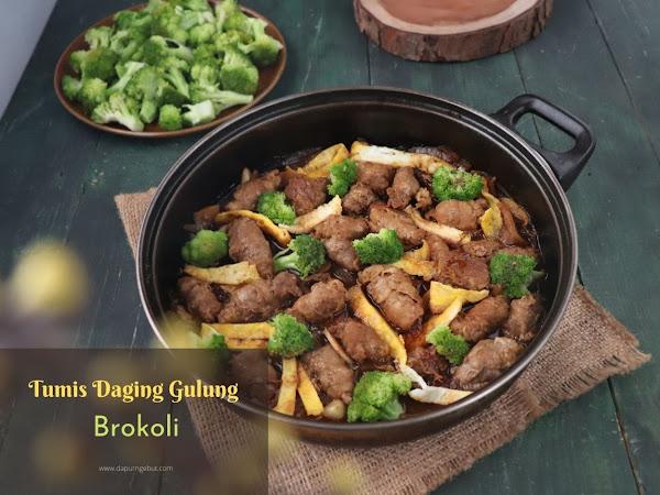 Tumis Daging Gulung Brokoli
