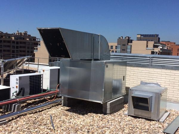 Climatizacion extracci n mecanica madrid y ventilacion - Extraccion de humos y ventilacion de cocinas ...