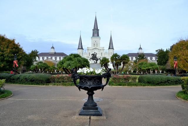 Площадь Джексон и Собор Святого Людовика, Новый Орлеан (Jackson Square, New Orleans)
