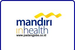 Lowongan Kerja Padang: PT. Asuransi Jiwa Inhealth Indonesia September 2018