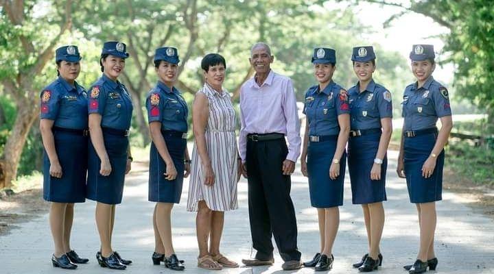 Guelos couple in Iloilo daughters policewomen