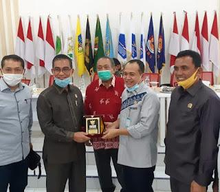 Tim Pansus Covid-19 DPRD Sumut Puji Bupati Batu Bara