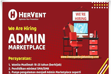 Lowongan Kerja Admin Marketplace Hervent