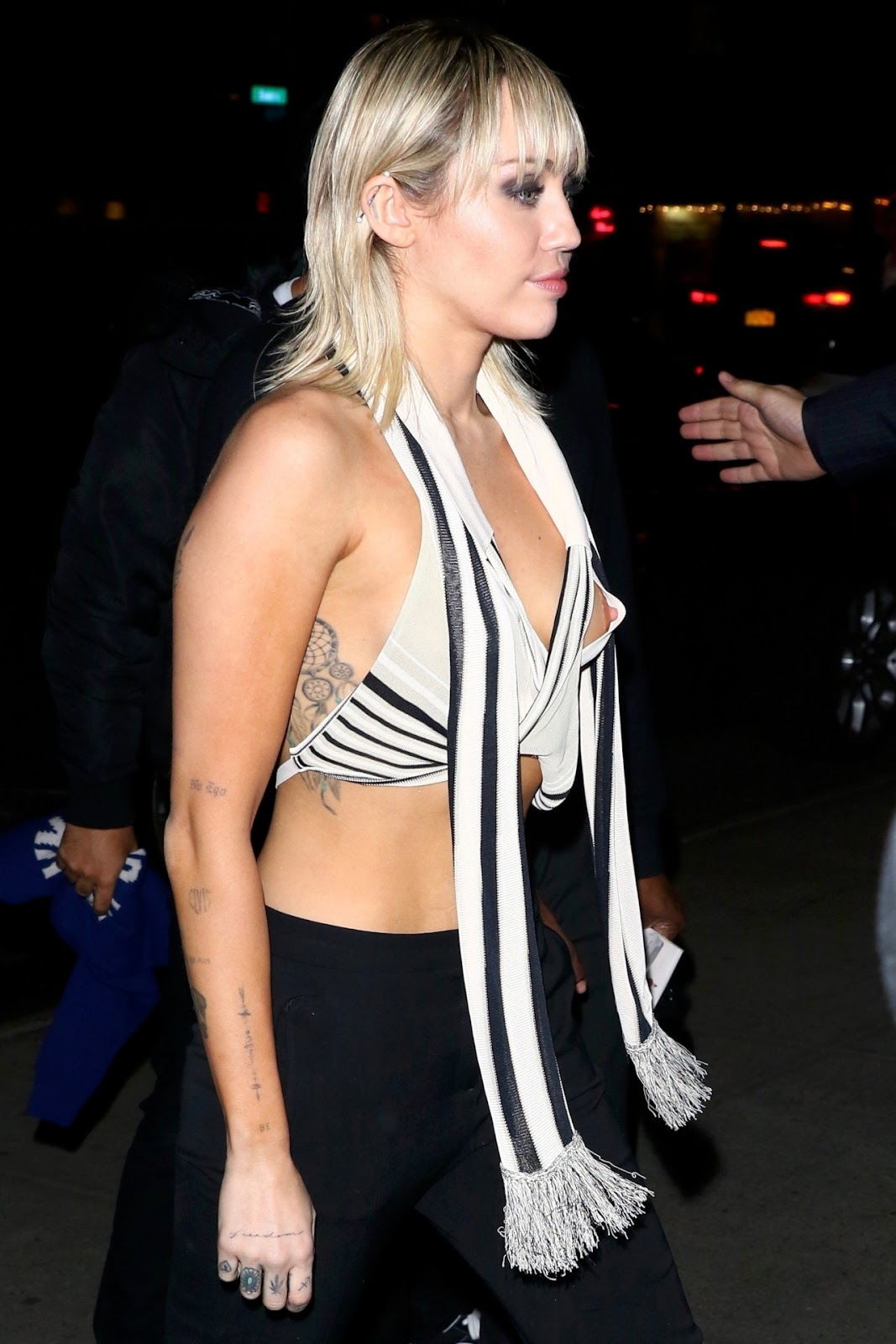 Miley Cyrus Shares NSFW Nip Slip Wardrobe Malfunction Photo