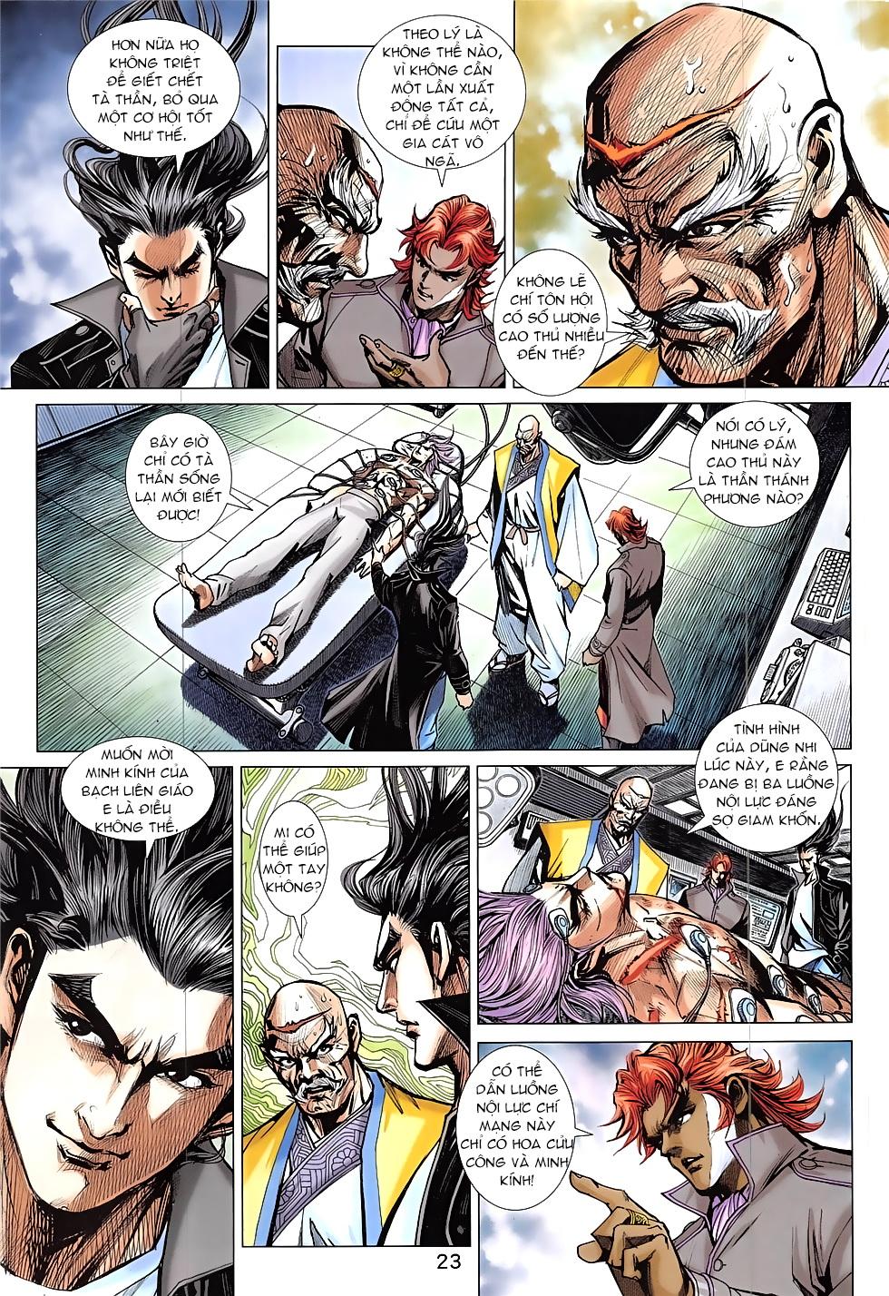 Tân Tác Long Hổ Môn Chap 837 page 23 - Truyentranhaz.net