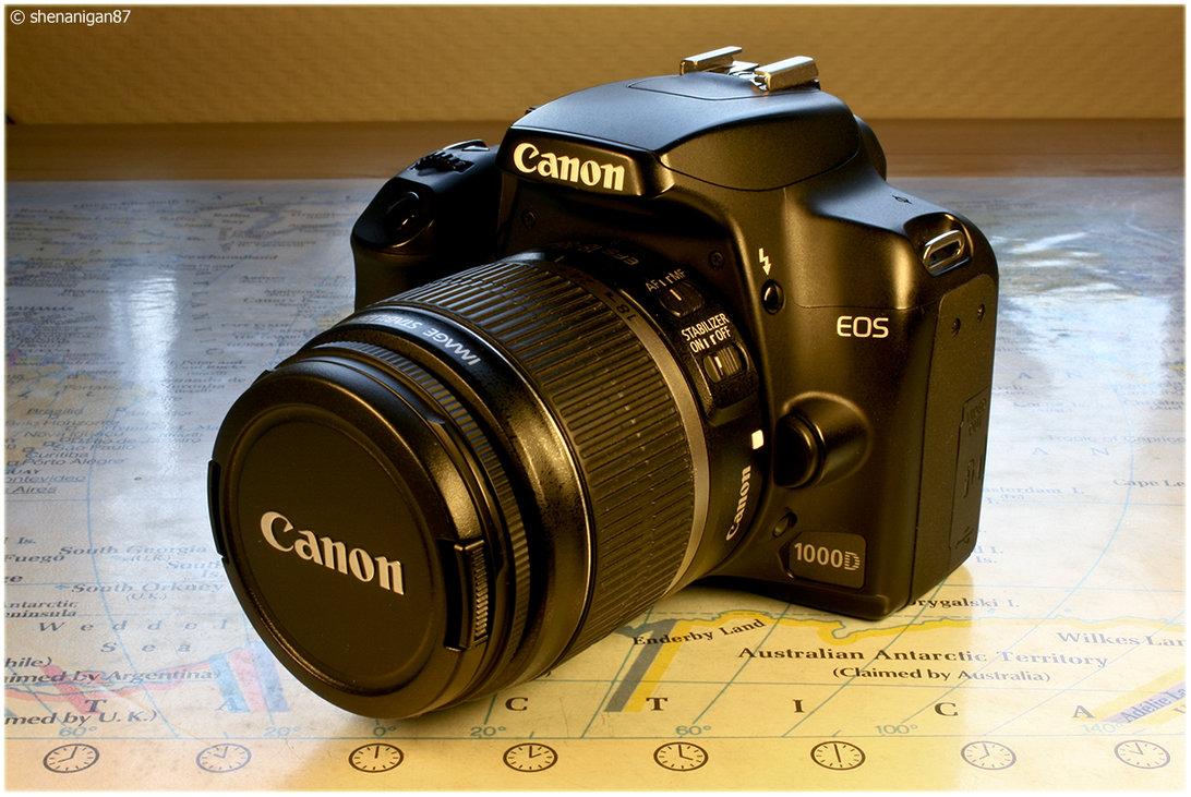 Kamera Canon EOS 1000D