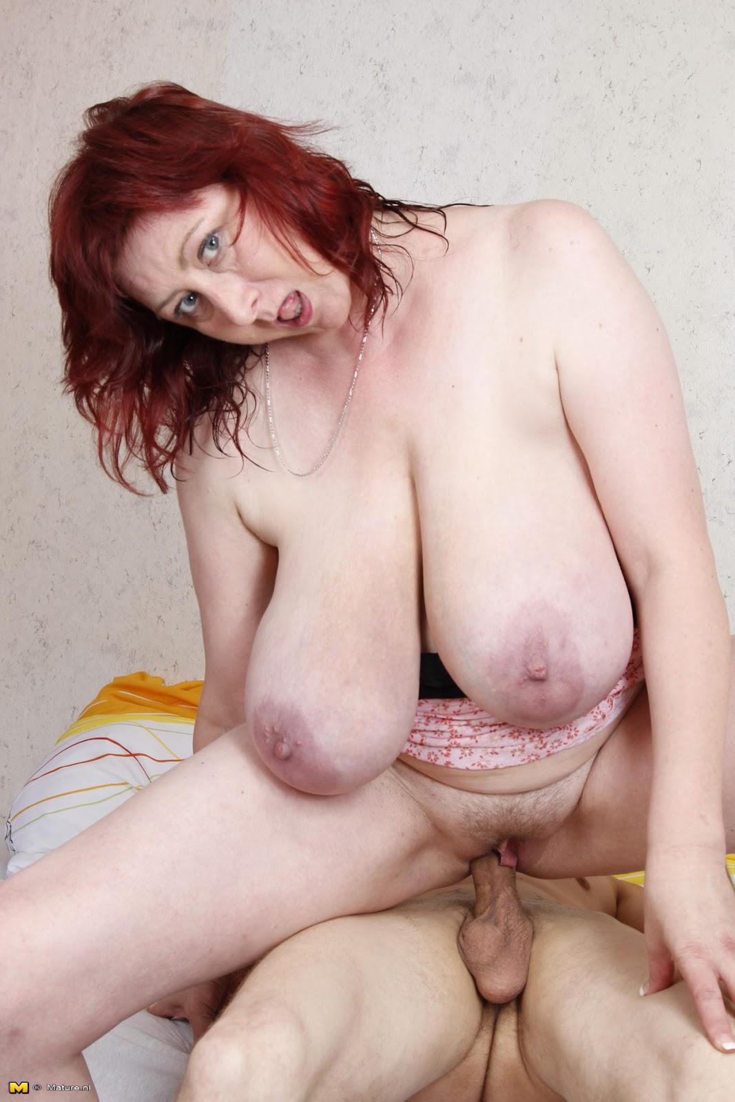 Large Saggy Tits