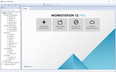 تحميل برنامج VMware Workstation لعمل الانظمة الوهمية باخر اصدار مع التفعيل