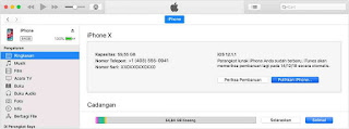 Cara update iphone, ipad dan ipod touch ke ios terbaru lewat itunes