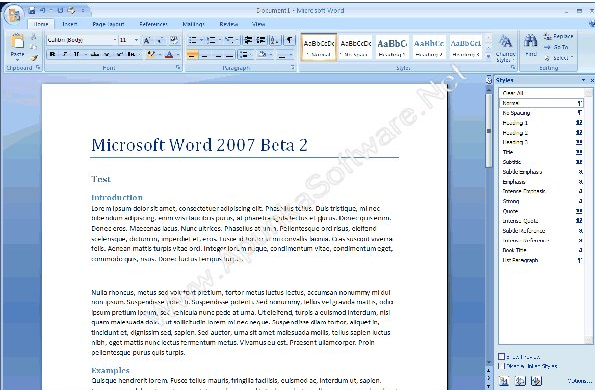 Microsoft Office 2007 for Windows Free Download