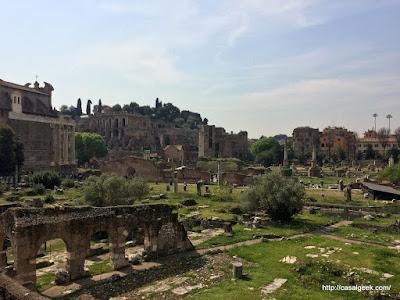 Descobrindo Roma - Foro Romano