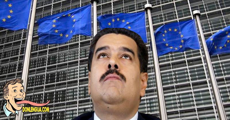Unión Europea en pleno RECHAZÓ el CNE impuesto por Maduro y no lo reconoce