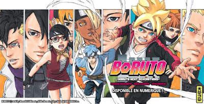 Boruto: le manga se retrouve aussi en version numérique
