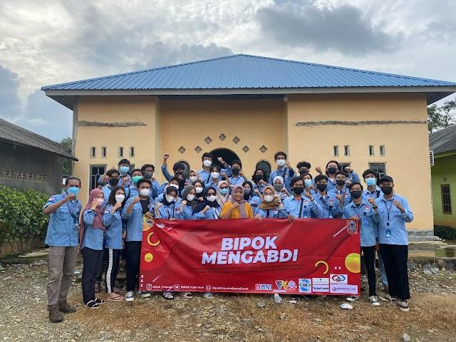 BIPOK FISIP ULM Laksanakan Pengabdian Masyarakat di Desa Suka Ramah, Tanah Laut