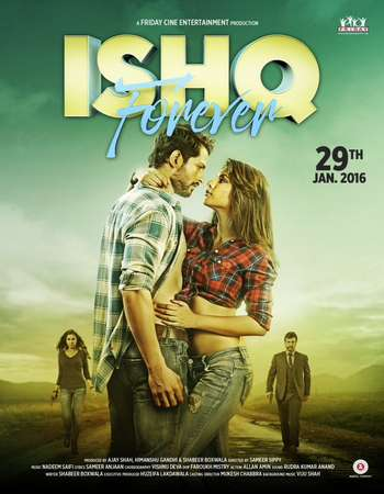 Poster Of Ishq Forever 2016 Hindi 700MB pDVD Xvid Free Download Watch Online