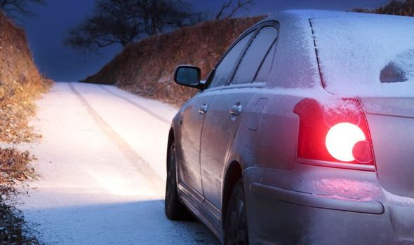 Driving on Black Ice: Health Tip