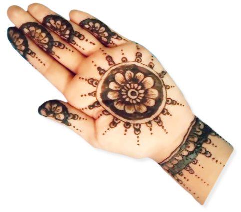 Tikki Mehndi Designs