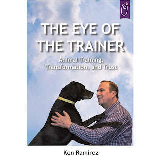 Cover of The Eye of the Trainer, one of the books in Zazie Todd's summer reading list
