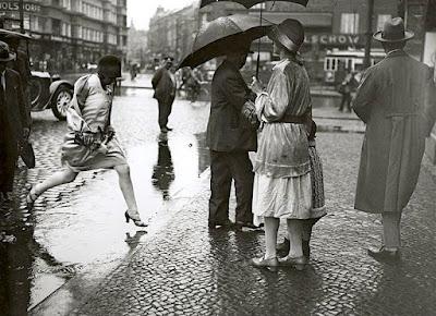 Berlin Scene de rue 1927
