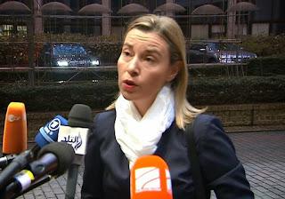La chef de la diplomatie de l'Union européenne, Federica Mogherini