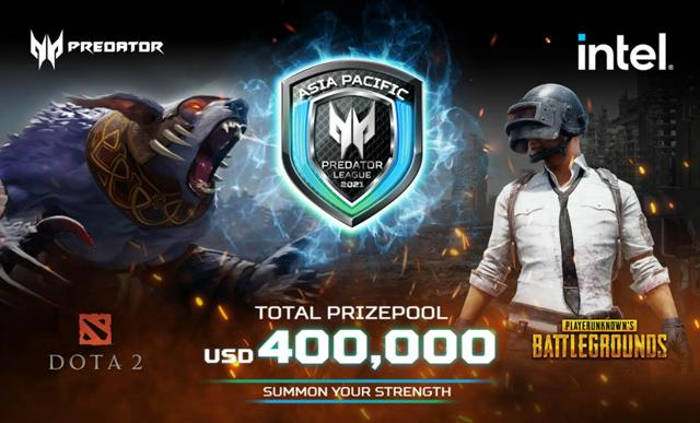 predator league 2021 PUBG