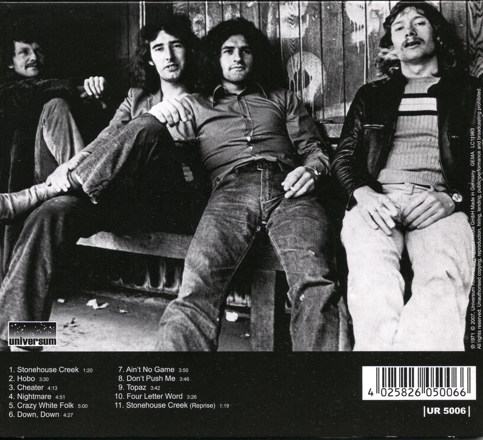 Stonehouse - Stonehouse Creek (1971 UK superb heavy/hard rock ) EAC
