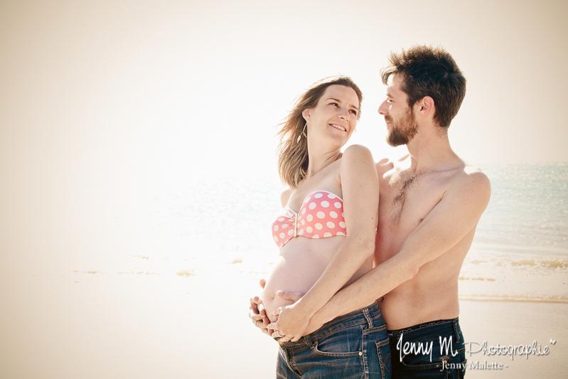 photographe grossesse couple venansault, les clouzeaux, landeronde, beaulieu sous la roche