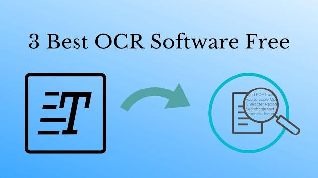 Best OCR Software Free