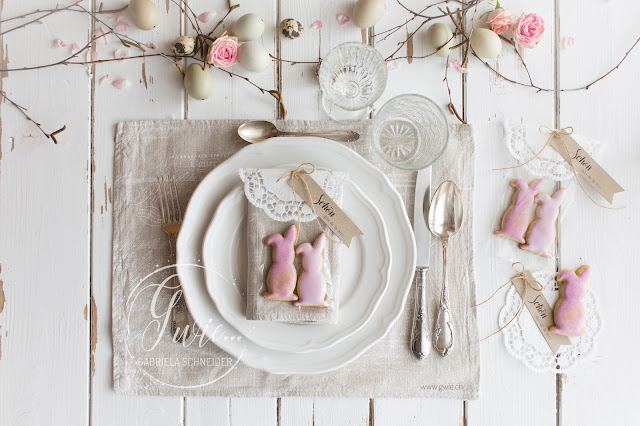 tischdekoration, ostern, osterdekoration, giveaway, give-away, easter, eastercookies, bunnies for easter, bunnies, schön dass du da bist
