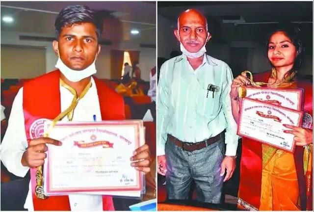 गोरखपुर विवि : पत्रकारिता के दो टॉपर्स को पहली बार मिला अतुल माहेश्वरी स्मृति स्वर्ण पदक