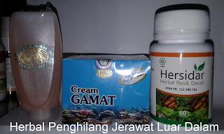 Obat jerawat alami herbal resik darah Hersidar yang ampuh