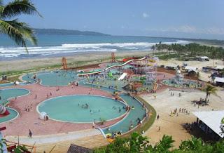 Water Park Pangandaran Jabar Indonesia