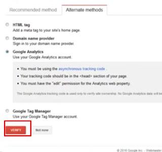 Cara Mendaftarkan Blog Ke Google Webmaster Tool (Search Console)