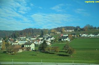 Pemandangan di Swiss