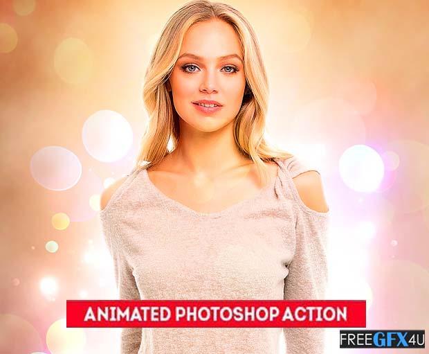 Magic Bokeh Animated Photoshop Action