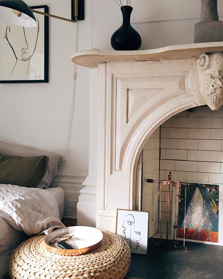 A dreamy Parisian style apartment by Lauren MacLean of Living by Lo