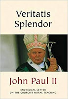 Book Cover of John Paul II's papal encyclical Veritatis Splendor (Splendor of Truth)