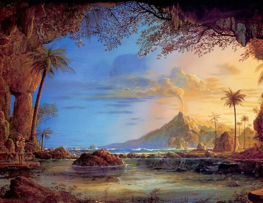 U Uu 2017 >> John Mason ~ Visionary landscape painter | Tutt'Art@ | Pittura • Scultura • Poesia • Musica