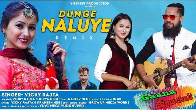 Dunge Naluye Remix Song mp3 Download - Vicky Rajta