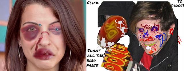 Beat Up Anita Sarkeesian Defend Anita Sarkeesian Bendilin flash game pictures comparison